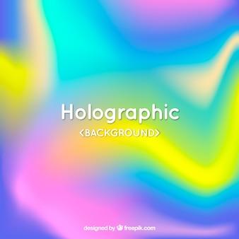 ホログラフィックカラフルな背景