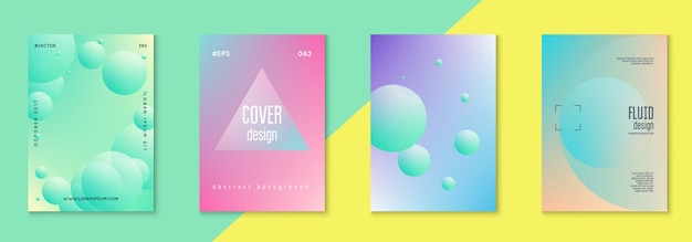 Holographic cover set fluid for business