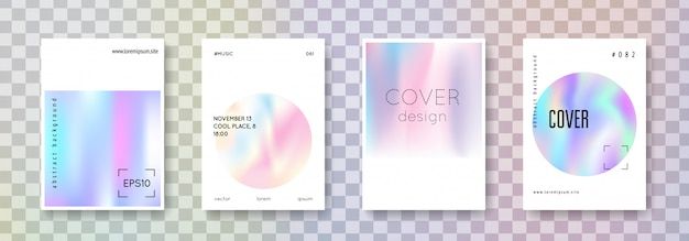 Holographic cover set.