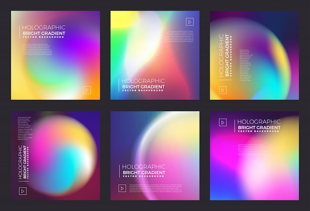 Holographic fluid bright gradient