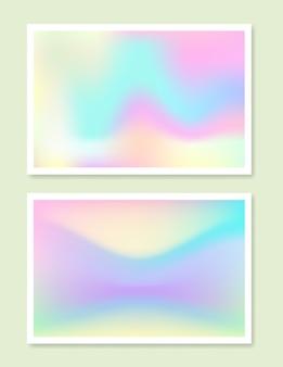 Holographic gradient set