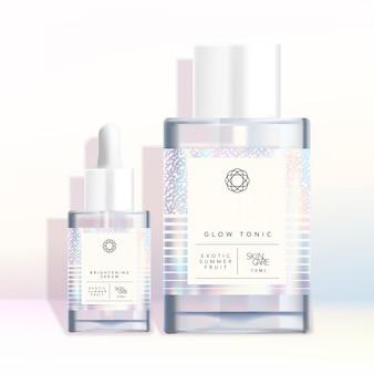 Голографические радужные соли для ванн, принадлежности для ароматерапии канцелярских принадлежностей модная шикарная упаковка