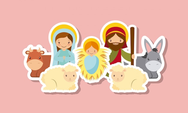 Holy family design