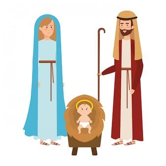 Симпатичные семейные персонажи
