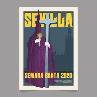성주간 이벤트 포스터 디자인