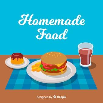 Homamade еда