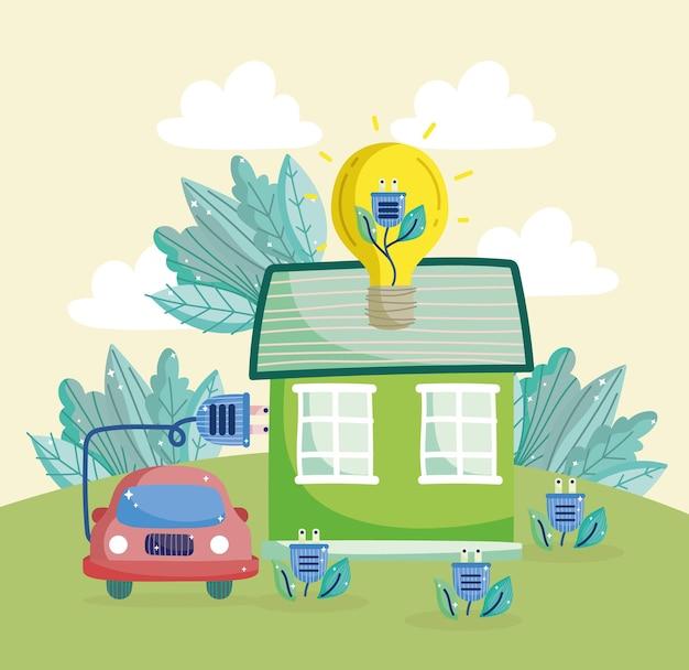 Зеленая энергия для дома и автомобиля