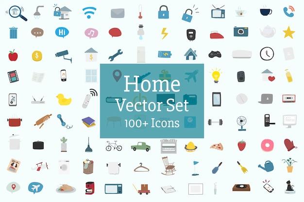 Домашний и семейный вектор