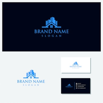 Home and building vector logo