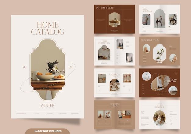 Home catalog brochure template