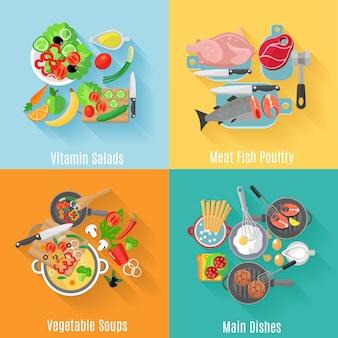 Основные блюда домашней кухни