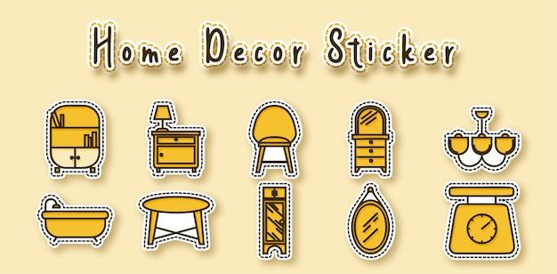 Home decor sticker