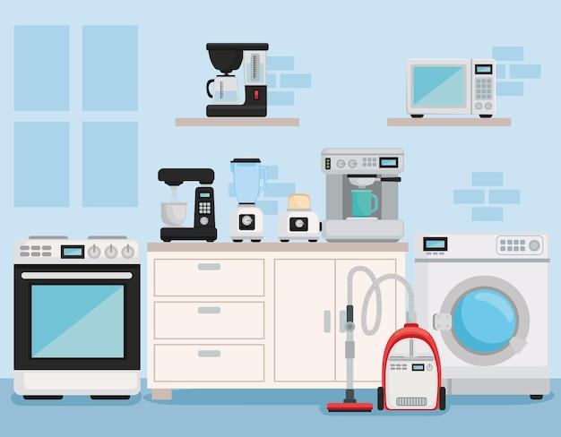 Home equipment appliances