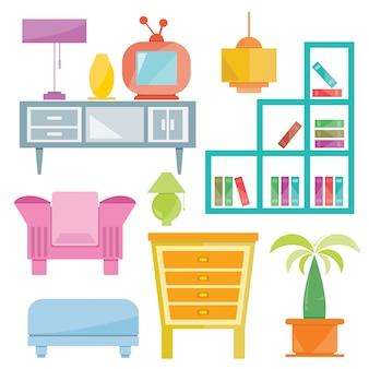 Home furniture decoration set
