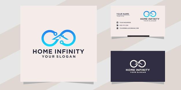 Home infinity logo template
