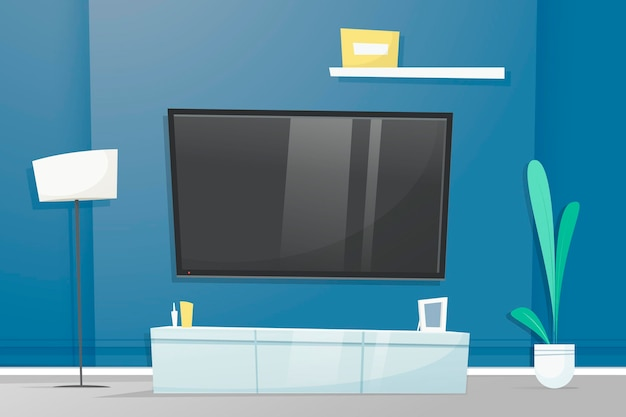 Home interior - background for video conferencing
