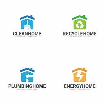 Home logo collection