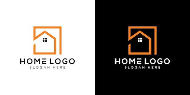 Home logo design template