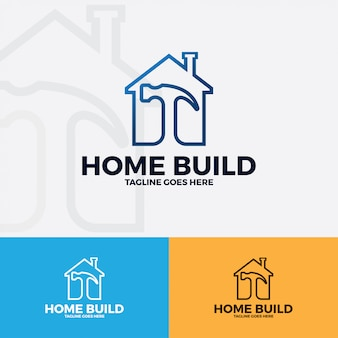Home logo vector art