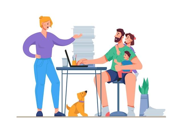 Домашний офис проблемы домашняя жизнь отвлечение