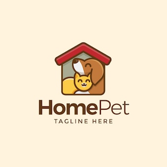 Home pet logo