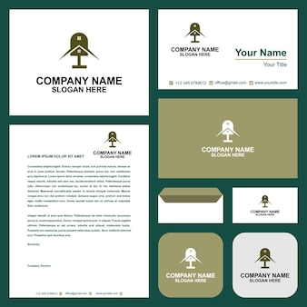 Home podcast and business card