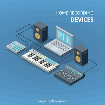 Home recording devices