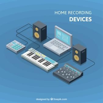 Dispositivi di registrazione domestici