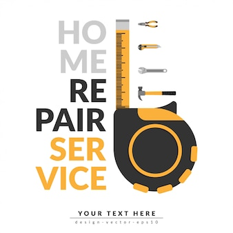 Home repair service template
