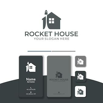 홈 로켓 로고 디자인 부스트 시작