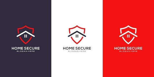 Дизайн логотипа домашнего щита