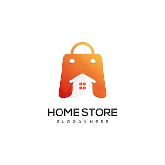 ホームショップのロゴデザイン