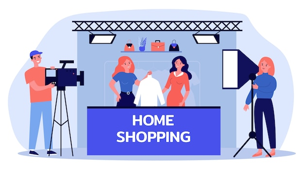 Home shopping shooting