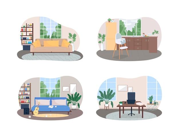 Набор плакатов для домашнего пространства