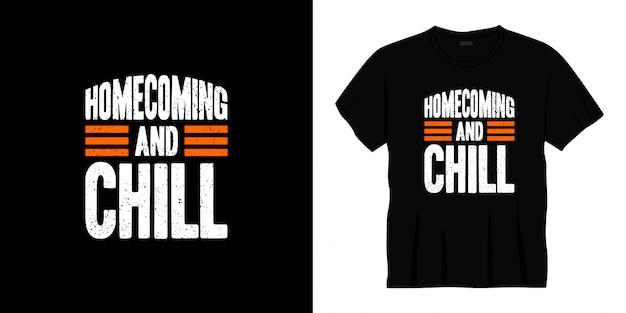 Типография дизайн футболки возвращения на родину