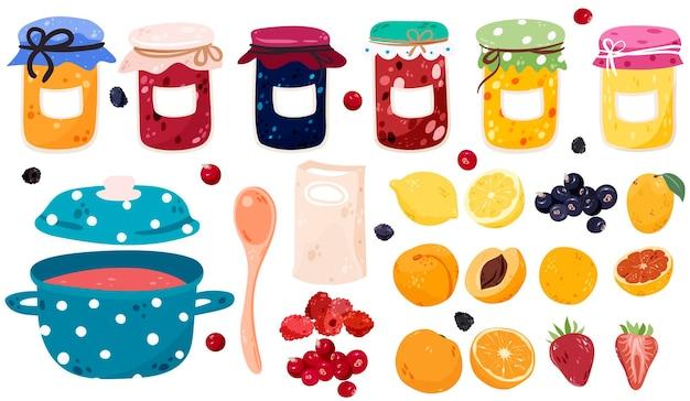 Homemade jam making kit set