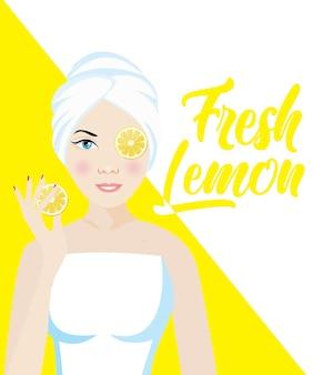 Homemade skin lightening (whitening) remedies and treatments with fresh lemon