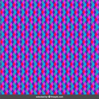 Homogeneous rhombus pattern