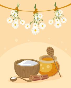 꿀과 가정 요법