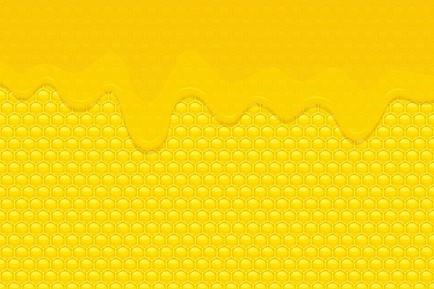 Honey background   illustration
