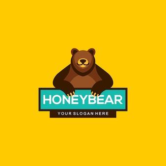 Honey bear logo