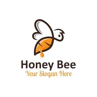 ミツバチのロゴ