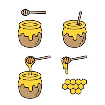 Honey cartoon