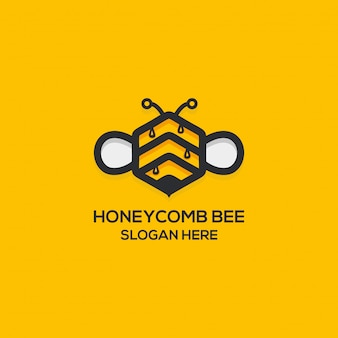 Honey comb logo