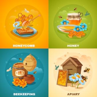 Honey  concept