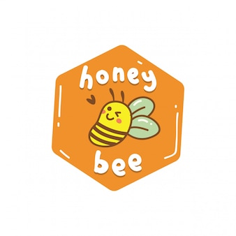 Honey cute bee