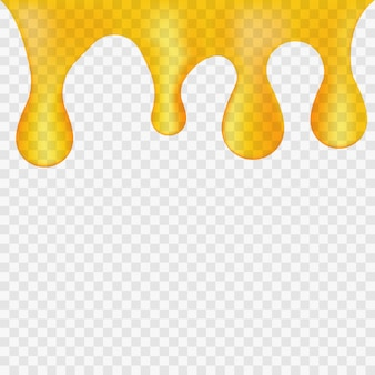 Honey dripping background