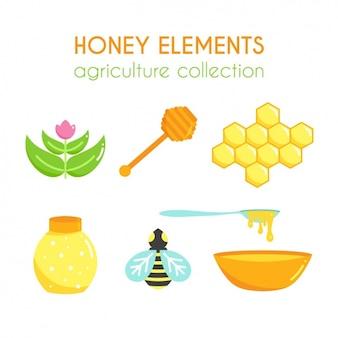 꿀 요소 컬렉션