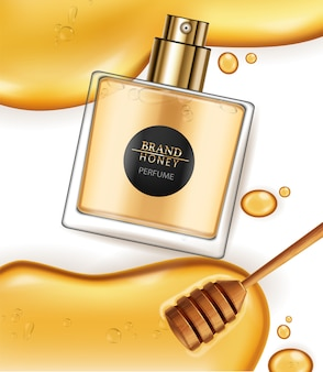 Honey infused perfume