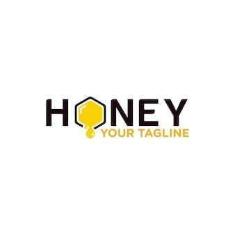 会社の蜂蜜のロゴデザイン